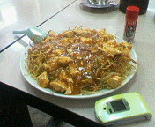 麻腐豆腐焼そば。