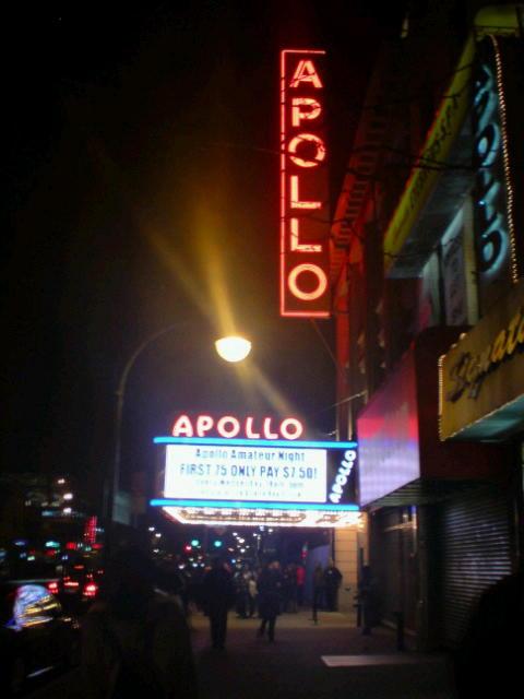 Day 3 @ NYC:Encounter#1 / Apollo Theater.