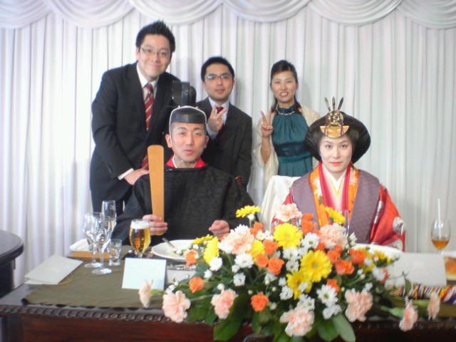 ゴルゴ松井結婚披露宴。