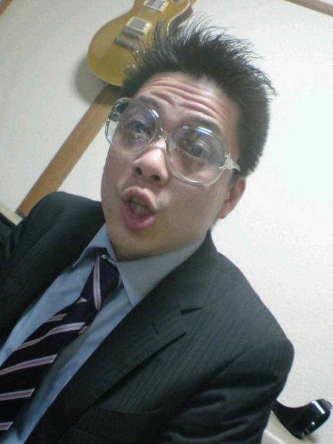 眼鏡は顔の一部です@居酒屋寺西。