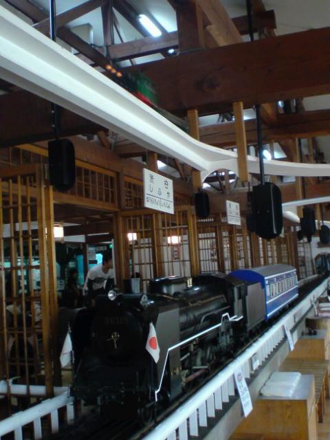 レストラン蒸氣汽関車。