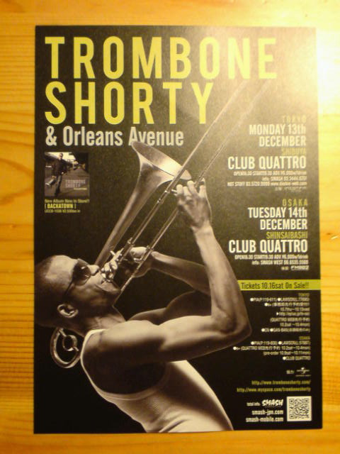TROMBONE SHORTY & Orleans Avenue.