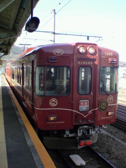 富士登山電車。
