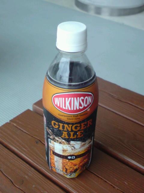 ついに!ペットボトルのWILKINSON GINGER ALE!!